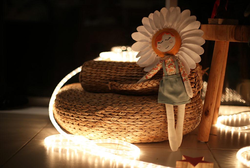 Marguerite à la lueur du soir